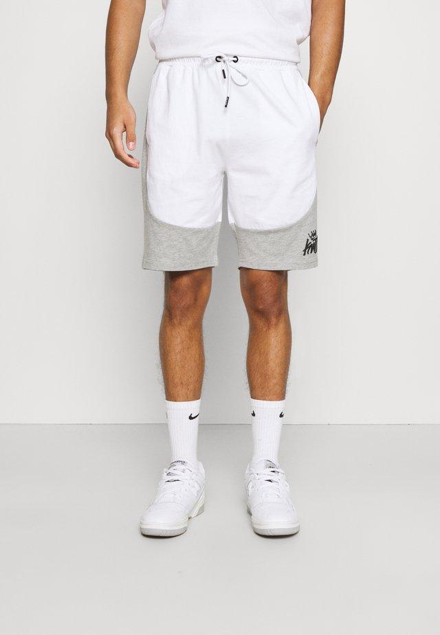 FRESWICK - Shorts - optic white/grey marl
