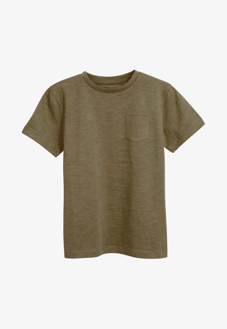 Next - CREW NECK T-SHIRT (3-16YRS) - Basic T-shirt - khaki