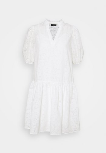 SLFPERNILLA DRESS EX - Day dress - snow white