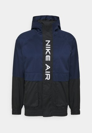 AIR  - Summer jacket - midnight navy/black/white