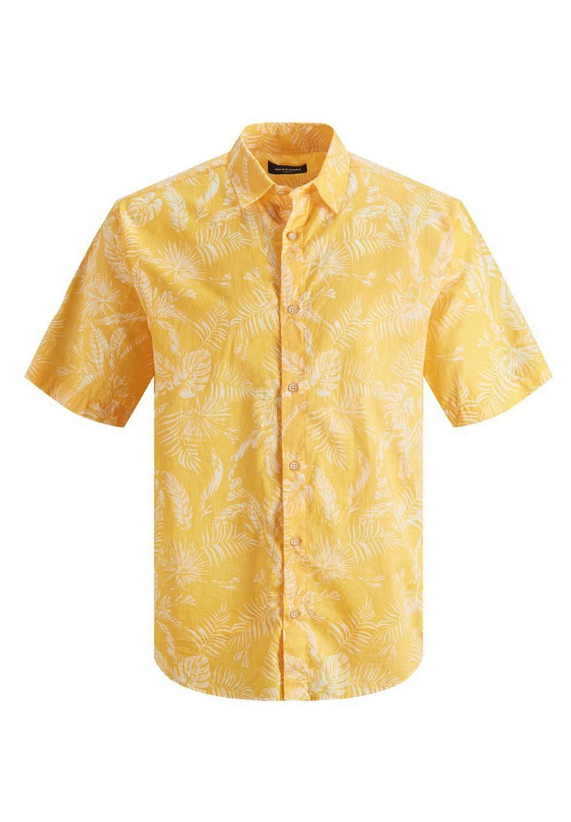 Jack & Jones JORELRON - Hemd - yolk yellow/gelb uW5tBT