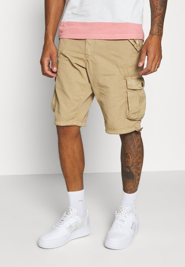 Pantaloni cargo - stone