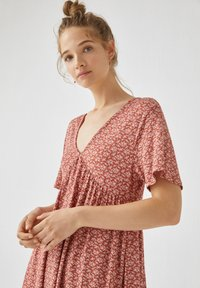 PULL&BEAR - Day dress - light brown - 3