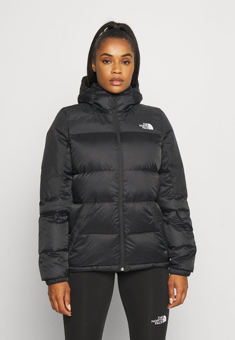 The North Face - DIABLO HOODIE  - Down jacket - black