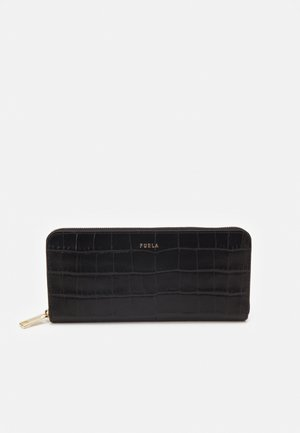 BABYLON ZIP AROUND SLIM - Wallet - nero