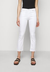 AG Jeans - JODI CROP - Flared Jeans - white - 0
