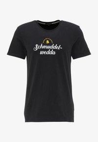 Schmuddelwedda - T-SHIRT - Print T-shirt - schwarz - 4