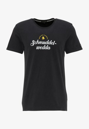 T-SHIRT - Print T-shirt - schwarz