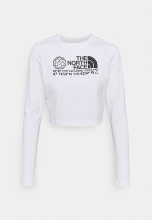COORDINATES TEE - Long sleeved top - white