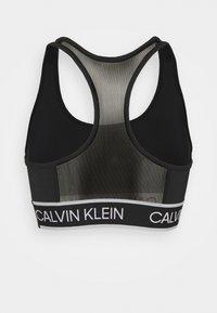 Calvin Klein Performance - MEDIUM SUPPORT BRA - Sportovní podprsenky se střední oporou - black - 6