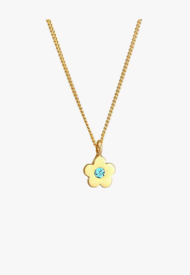 FLOWER - Halskette - gold