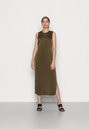 CILLA DRESS - Vestito estivo - dark olive