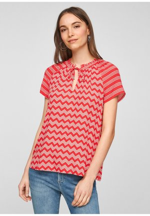 Blouse - red stipes
