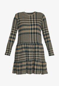 JDY - JDYBRIENNE DRESS - Robe pull - deep teal/travatine check - 3