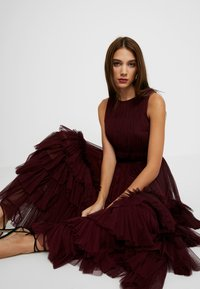 Lace & Beads - MEL MIDI - Cocktail dress / Party dress - burgundy - 5