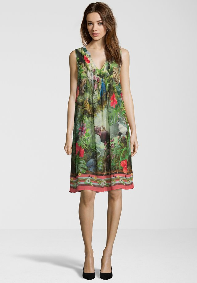 MIT DSCHUNGEL MUSTER - Day dress - multi-coloured
