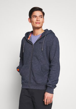 ORANGE LABEL CLASSIC ZIP HOOD - veste en sweat zippée - abyss navy feeder