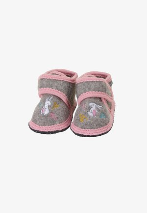 WINTER HAUSSCHUH - First shoes - dunkelgrau