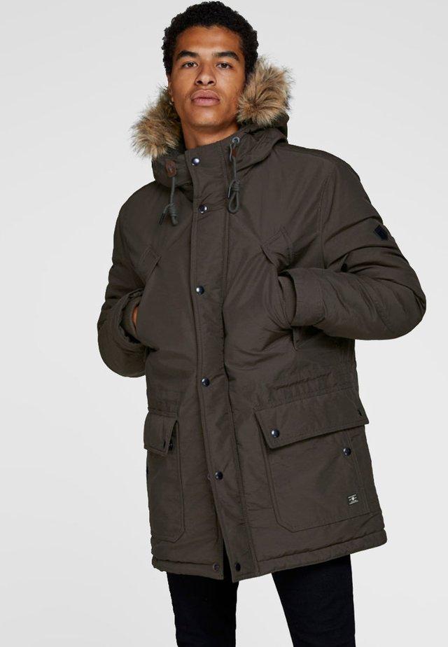 Winter coat - after dark