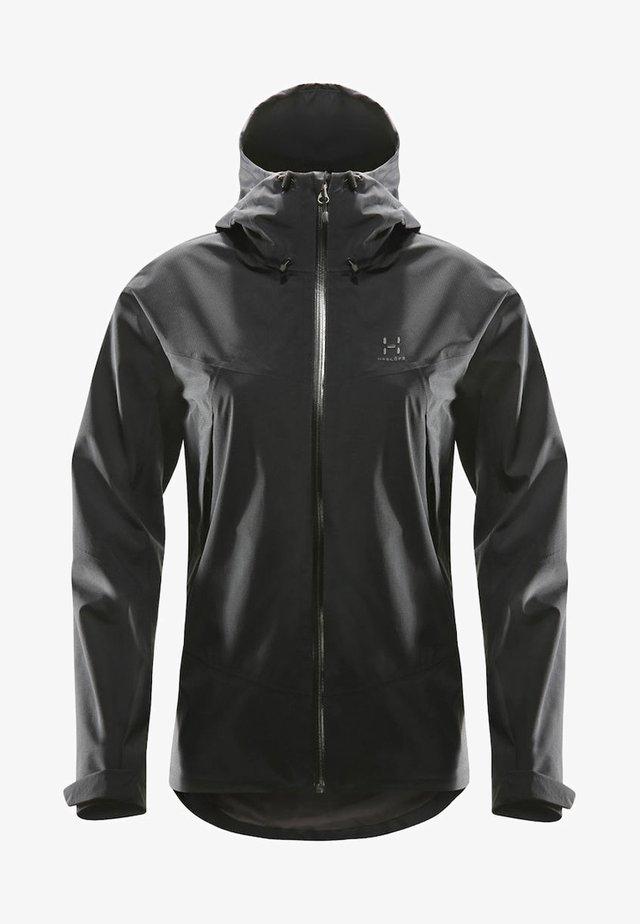 VIRGO JACKET - Soft shell jacket - true black