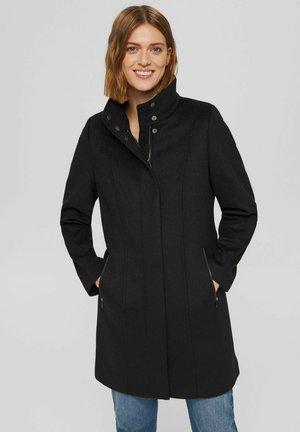 RECYCELT: MIX MIT - Classic coat - black