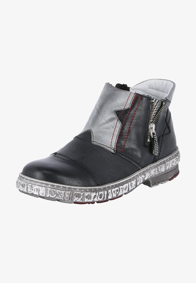 Ankle boots - schwarz - grau
