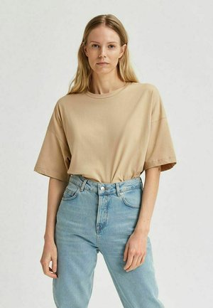 DREW  - Camiseta básica - beige
