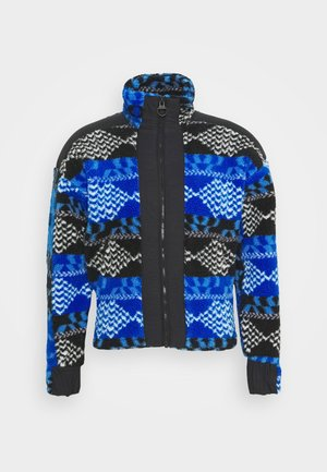 ORIGINAL PILE ZIP - Fleecejacke - blue