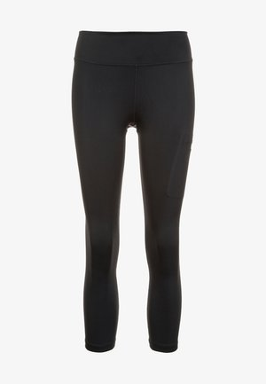 POWER - 3/4 sports trousers - black