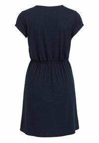 Vila - VIMOONEY STRING - Jersey dress - navy blazer - 6