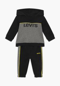 Levi's® - HOODIEJOGSET - Survêtement - black - 0