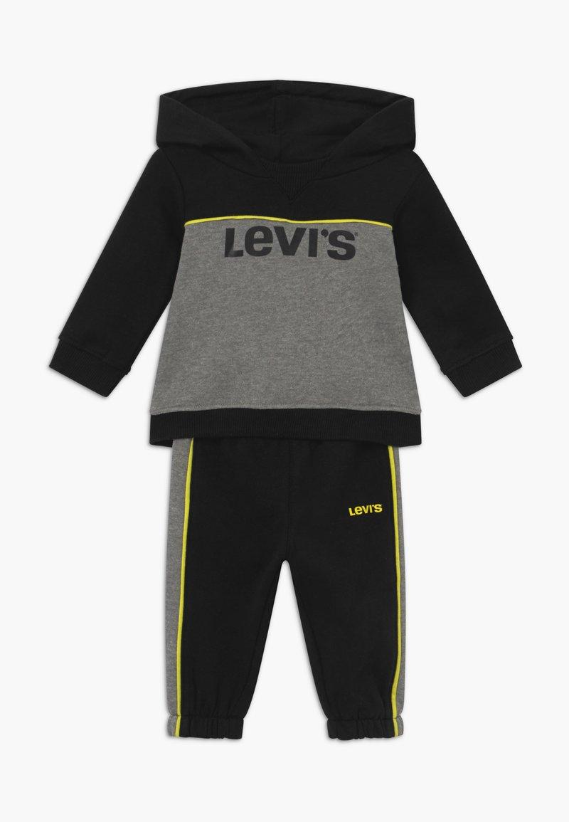 Levi's® - HOODIEJOGSET - Survêtement - black