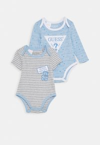 Guess - BABY 2 PACK - Body - blue stripes - 0