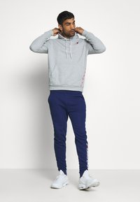 Tommy Hilfiger - PIPING HOODY - Sweat à capuche - grey - 1
