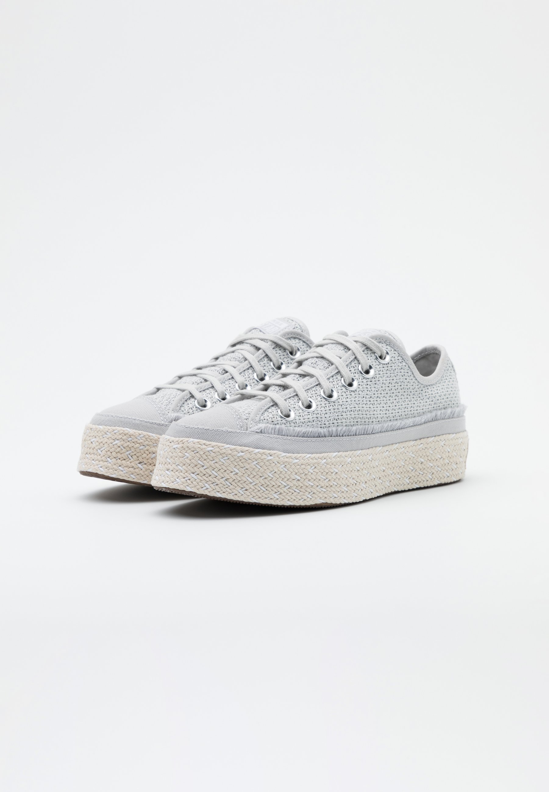 Converse CHUCK TAYLOR ALL STAR Espadrille mouse/white/natural/grau