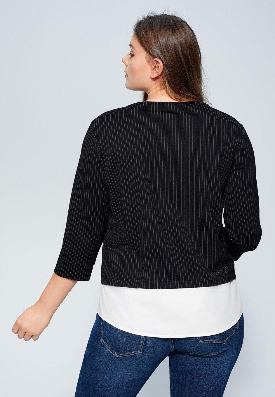 Violeta by Mango DIPLO - Sweatshirt - black - Pulls & Gilets Femme bz2E9