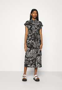Monki - ARIANA DRESS - Skjortekjole - black - 0