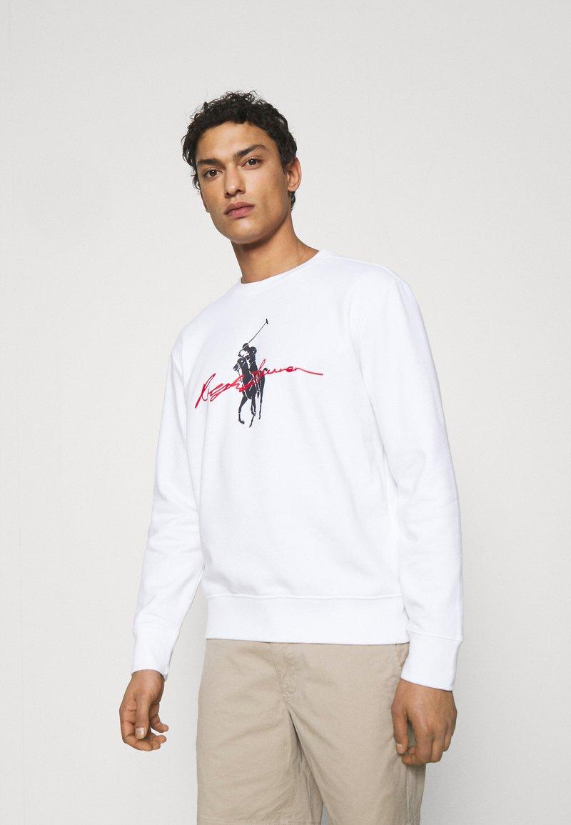 Polo Ralph Lauren - GRAPHIC - Collegepaita - white
