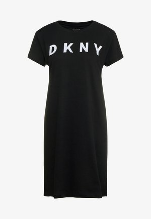 LOGO DRESS - Kjole - black