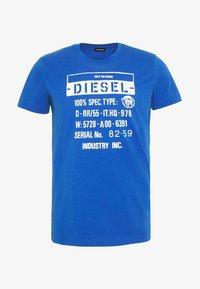 Diesel - T-DIEGO-S1 T-SHIRT - T-shirt con stampa - blue - 3