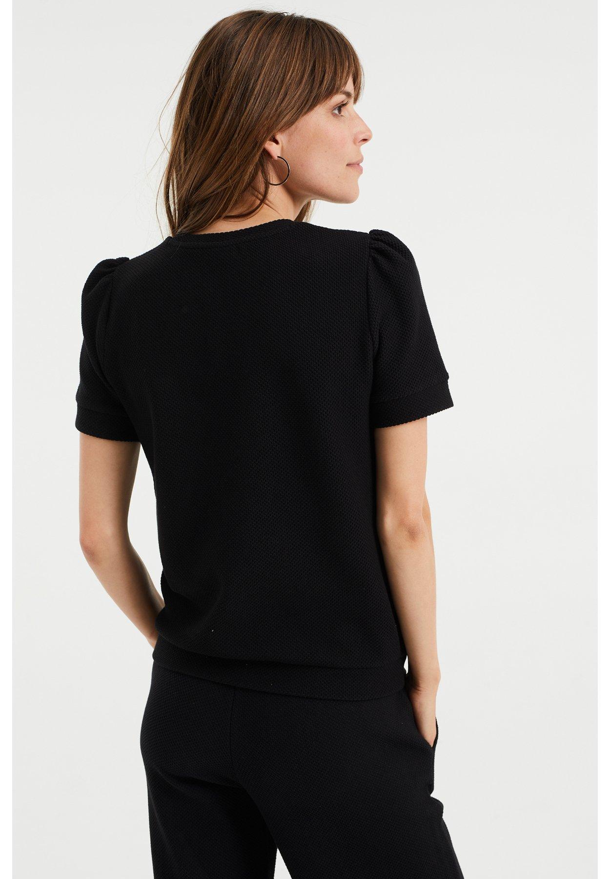 Donna MET STRUCTUUR - T-shirt basic
