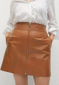 Violeta by Mango - A-line skirt - mittelbraun - 3