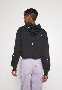 Hollister Co. - FLORAL ICON - Sweatshirt - black - 2