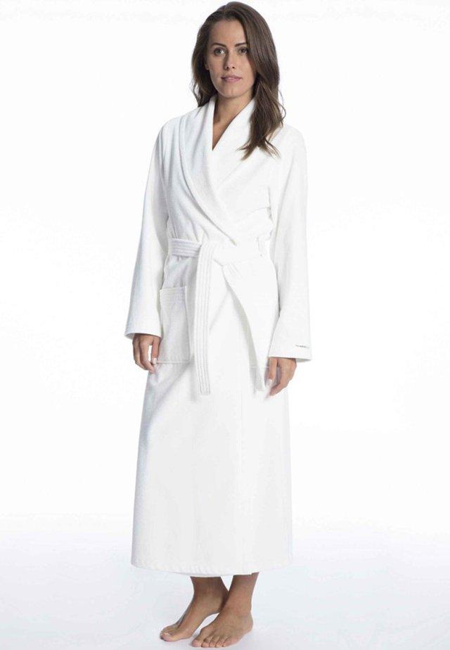MIT SCHALKRAGEN - Dressing gown - off-white