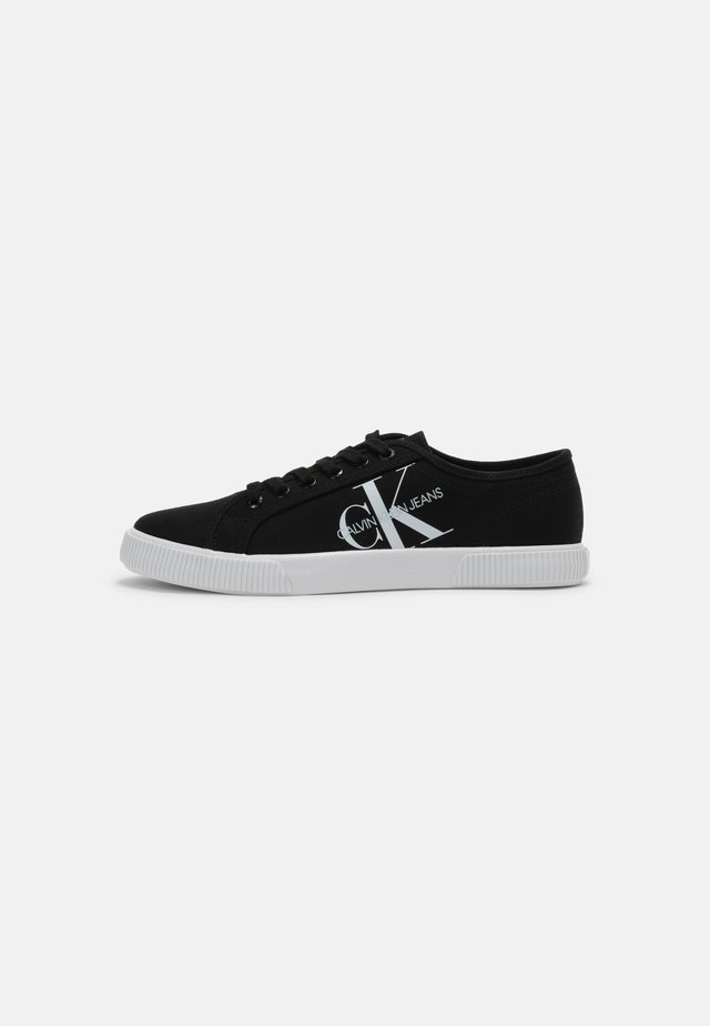 VULCANIZED SNEAKER LACEUP CO - Trainers - Trainers - black