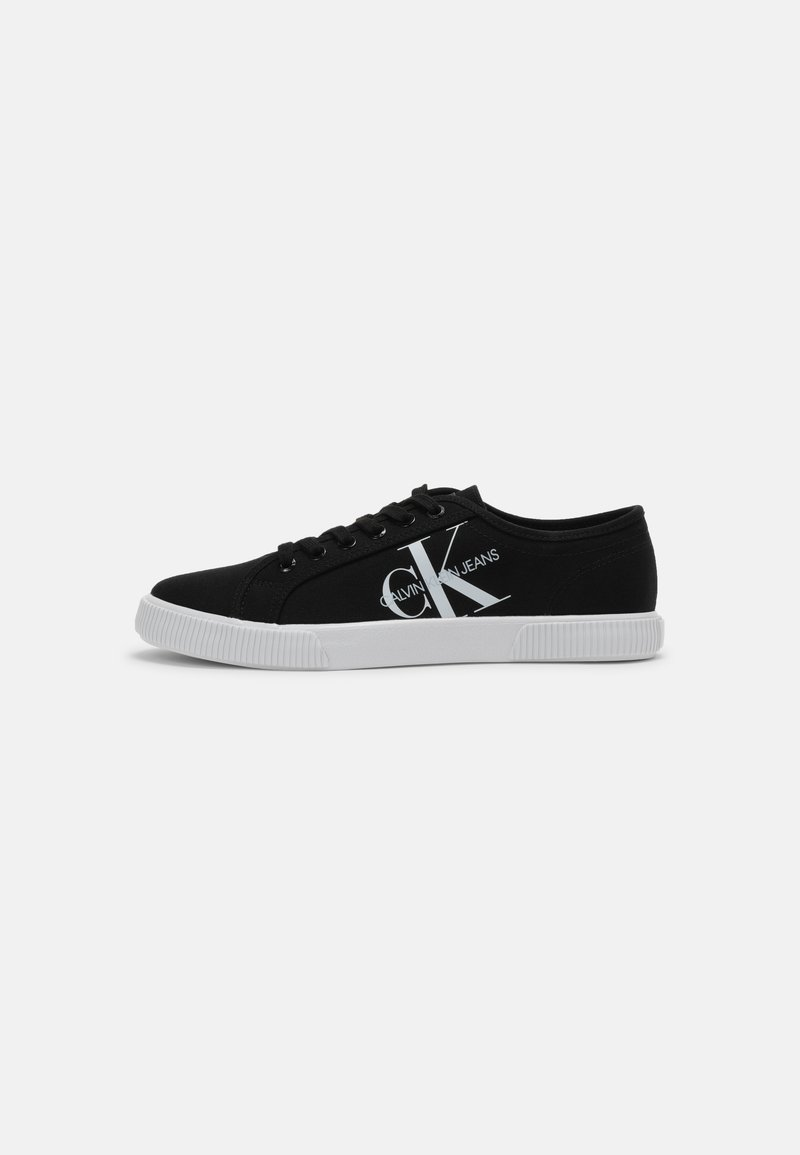 Calvin Klein Jeans - VULCANIZED SNEAKER LACEUP CO - Trainers - Sneakers laag - black