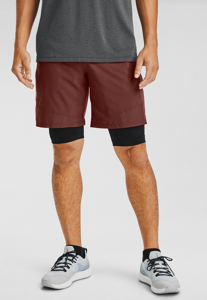 Under Armour - VANISH SHORTS - kurze Sporthose - red