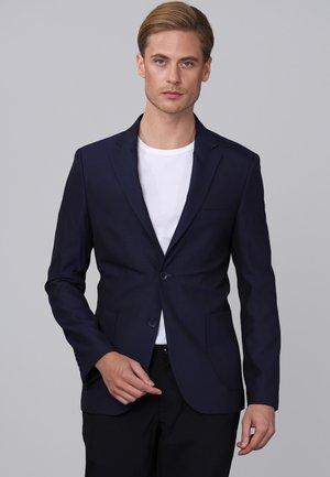 Blazer jacket - mottled blue