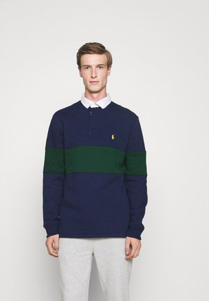 RUGBY LONG SLEEVE - Collegepaita - french navy/college green