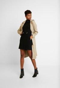 Morgan - JELLY - Áčková sukně - noir - 1
